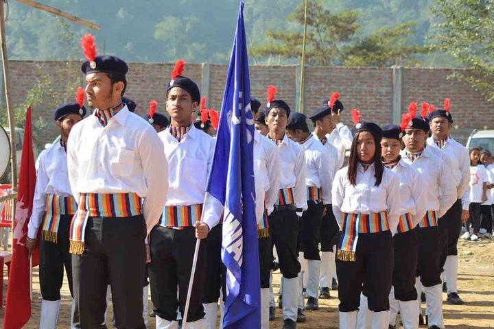 axel public school - march past