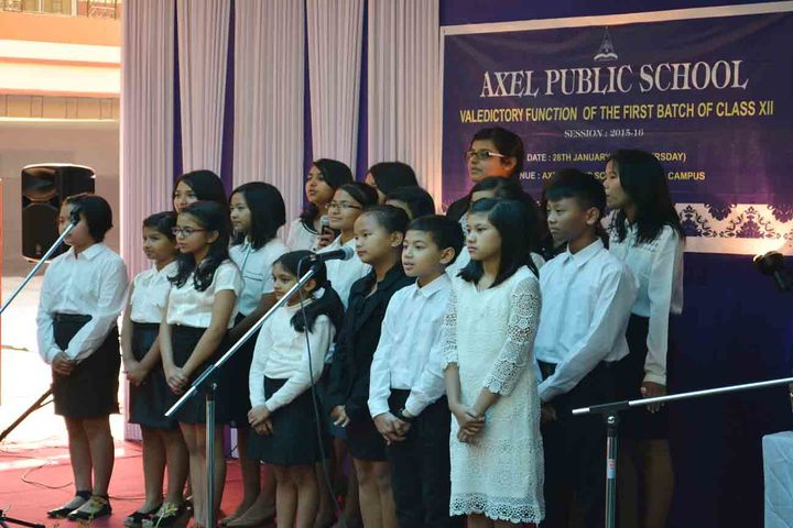axel public school - singing
