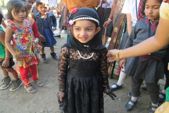 B B Memorial Public School - childrens day