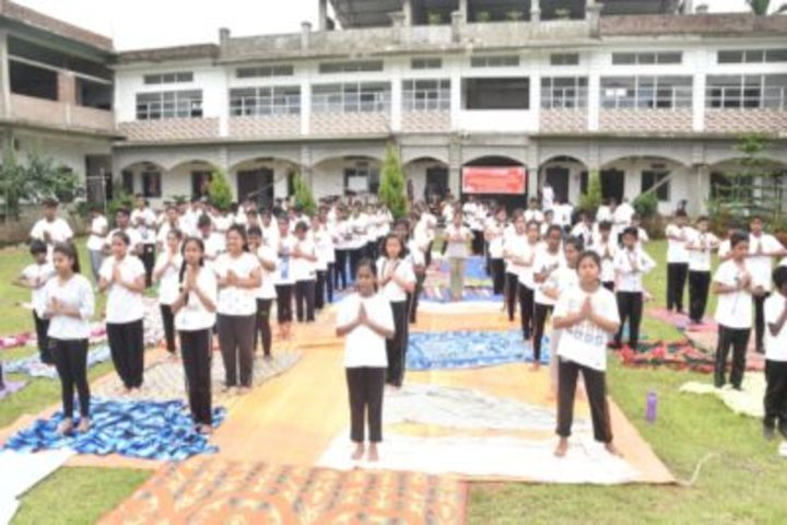 B B Memorial Public School-Yoga
