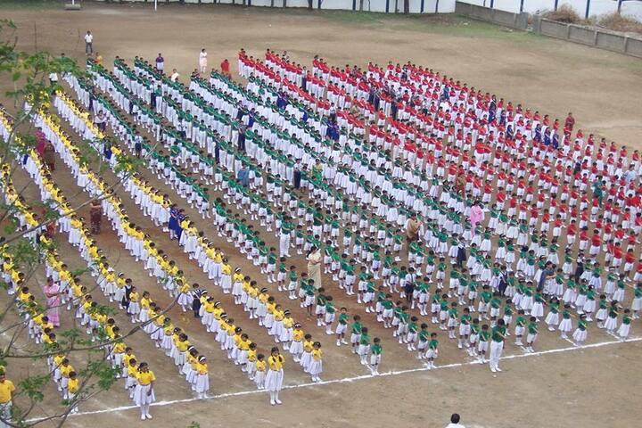 Chandrakant Patil English Medium School-Assembly