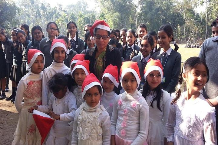 Biswanath Jnan Bharati School-Christamas Day Celebration