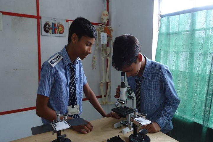 Biswanath Jnan Bharati School-Science lab