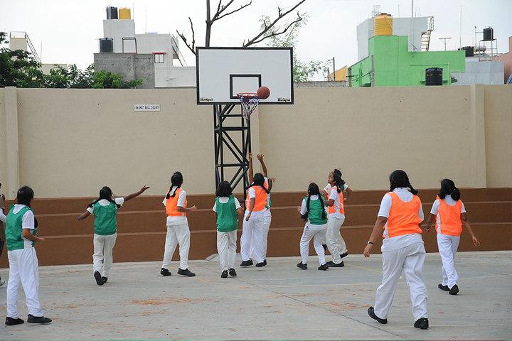 Chitrakoota School-Basketball