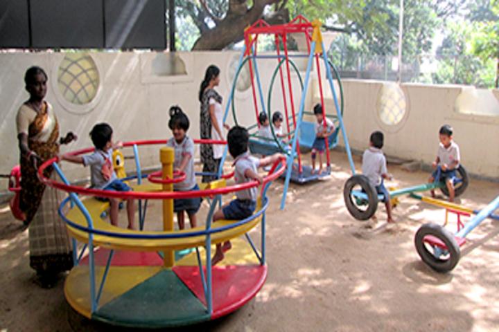 Chitrakoota School-KG Playarea