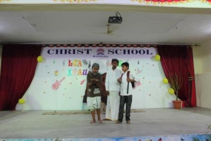 Christ School-Skit