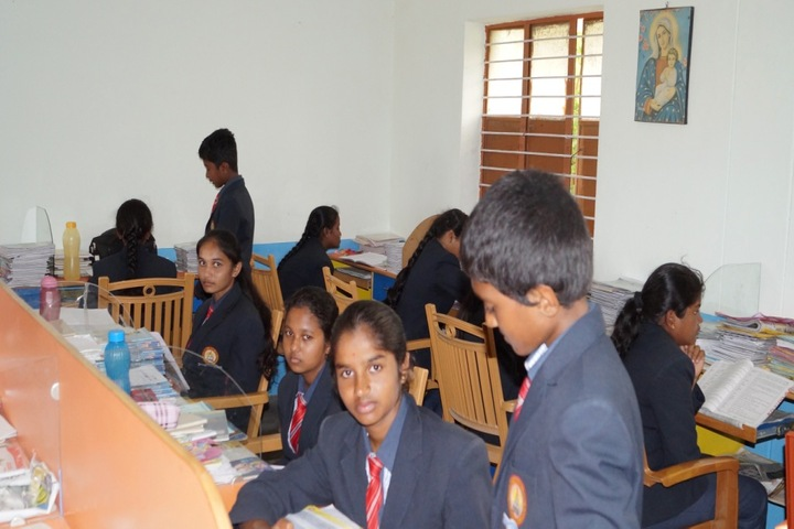 Christa Jyothi School-Library
