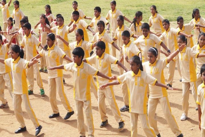Christa Jyothi School-Yoga