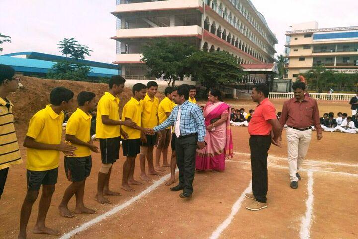 CKS English School-Kabaddi
