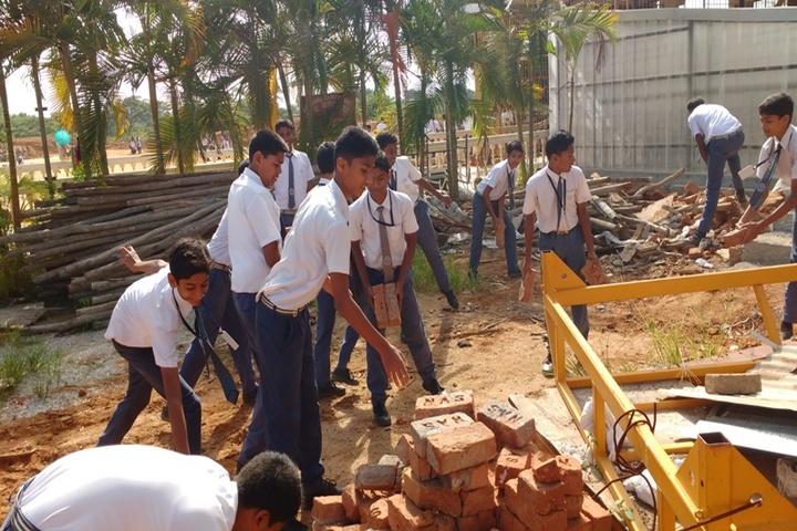 CKS English School-Swatch Bharath