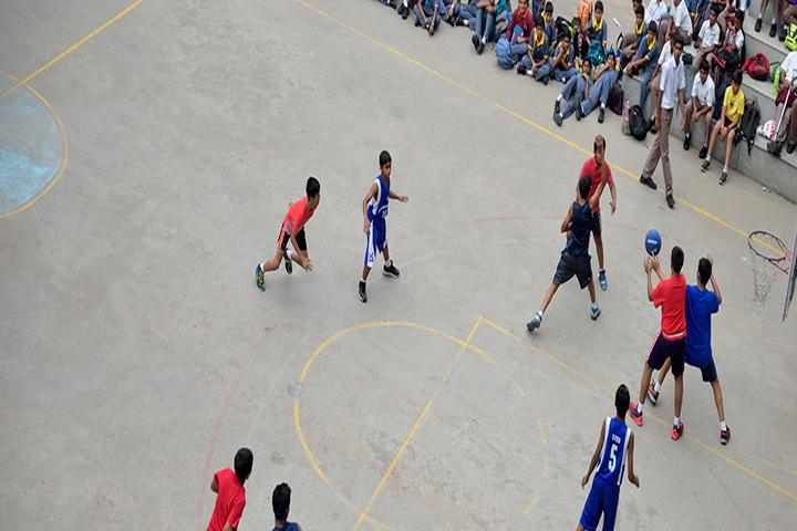 Cmr National Public School-Basketball Court