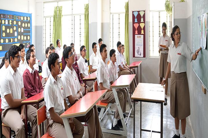 Cmr National Public School-Classroom