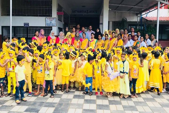 Crescent International School-Yellow Day Celebration