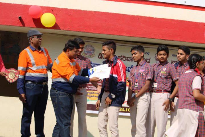 D A V Public School-Prize Distribution