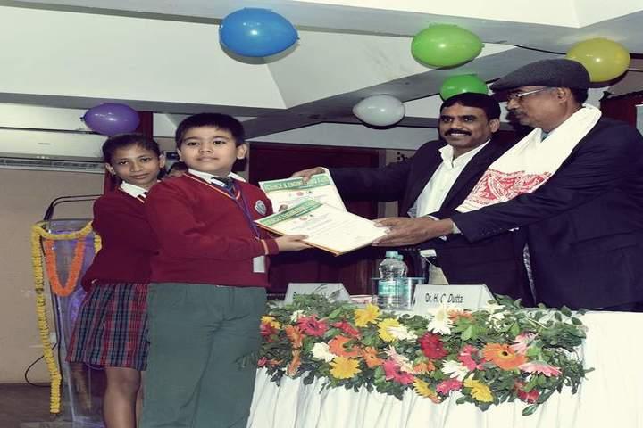Brahmaputra Valley English Academy - certificate