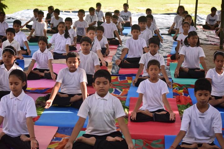Brahmaputra Valley English Academy - yoga