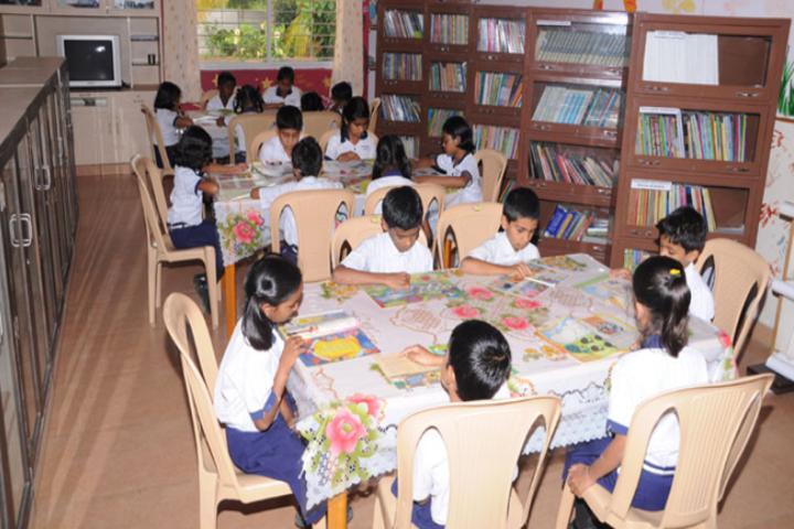 Deeksha High School-Library
