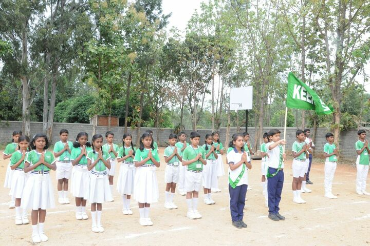 Deeksha High School-Sports day