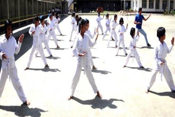 Budding Buds School - karate