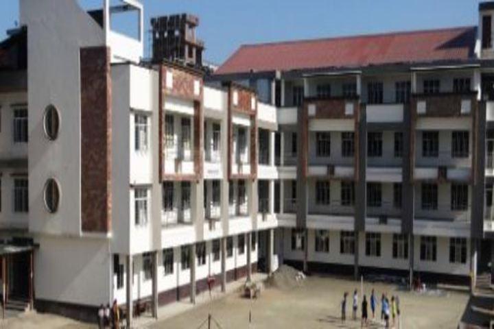 Budding Buds School - school building