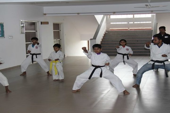 Dhee Global School-Karate