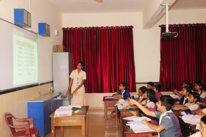 Don Bosco English Medium School-Classroom