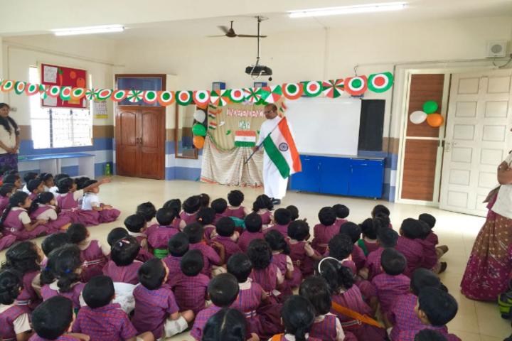 Don Bosco English Medium School-Independence Day