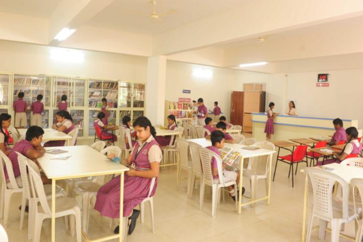 Don Bosco English Medium School-Library