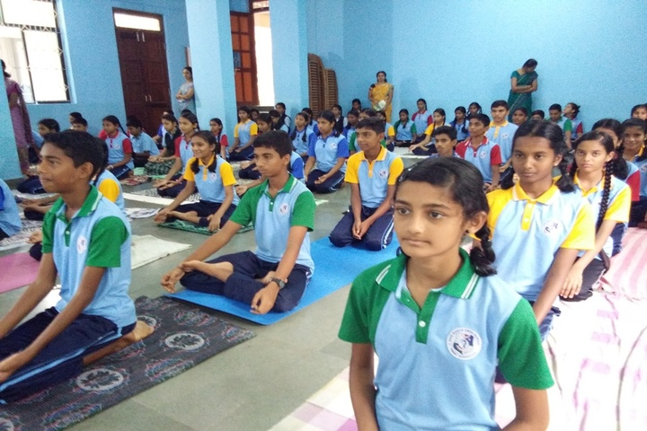 Don Bosco School-Yoga