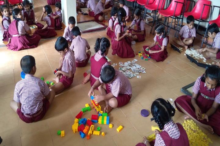Dr N Shankara Adyanthaya Memorial English Medium High School Nitte-Activity Room