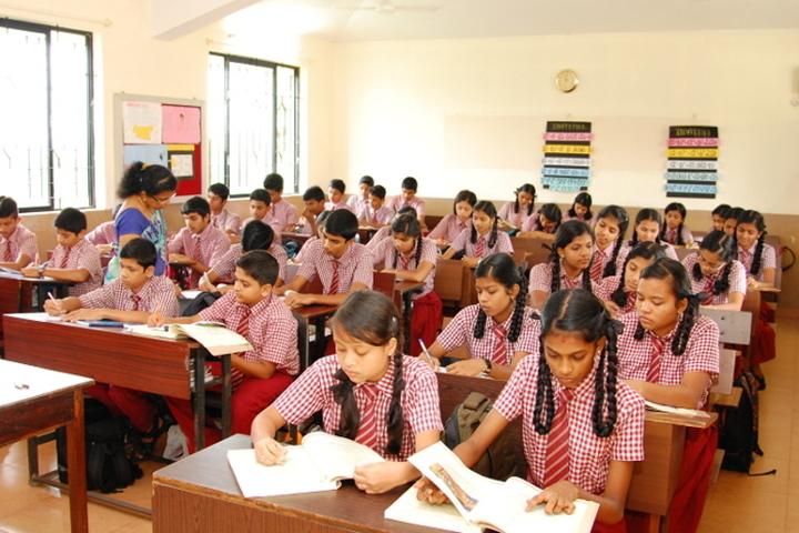 Dr N Shankara Adyanthaya Memorial English Medium High School Nitte-Classroom
