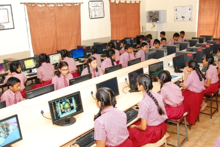 Dr N Shankara Adyanthaya Memorial English Medium High School Nitte-Computer Lab
