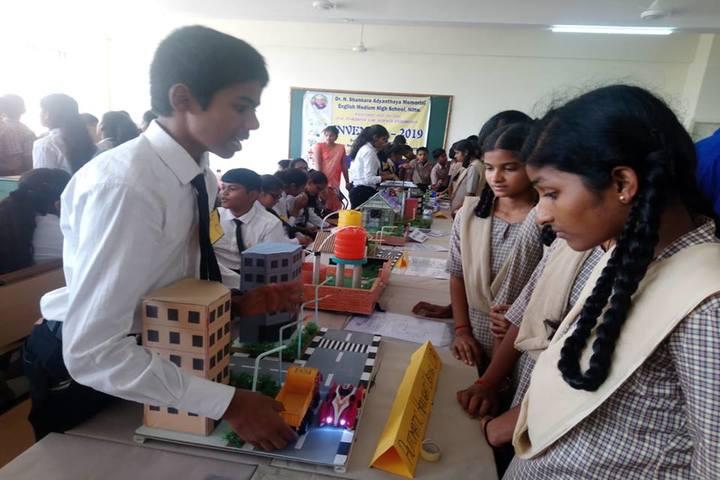 Dr N Shankara Adyanthaya Memorial English Medium High School Nitte-School Exhibition