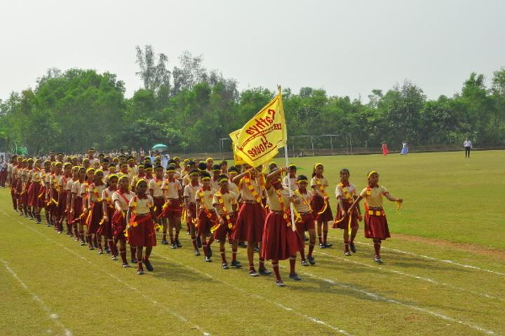 Dr N Shankara Adyanthaya Memorial English Medium High School Nitte-Sports Day