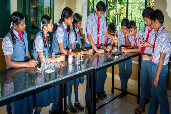 Dr M Ramanna Shetty Memorial English Medium High School-Chemistry Lab