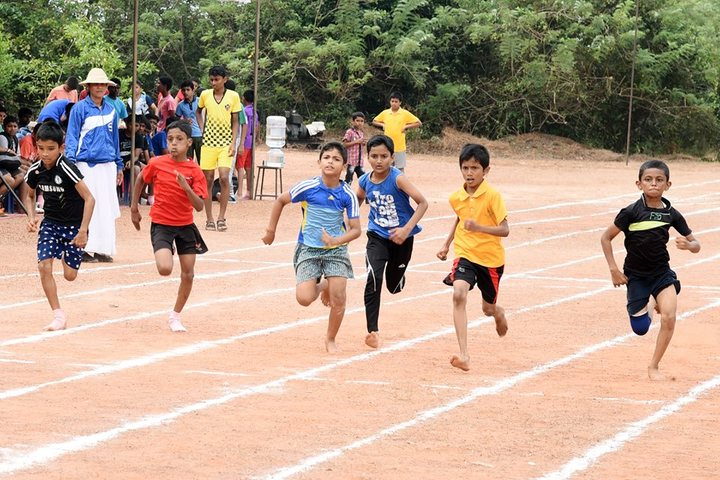 Dr M Ramanna Shetty Memorial English Medium High School-Sports Day