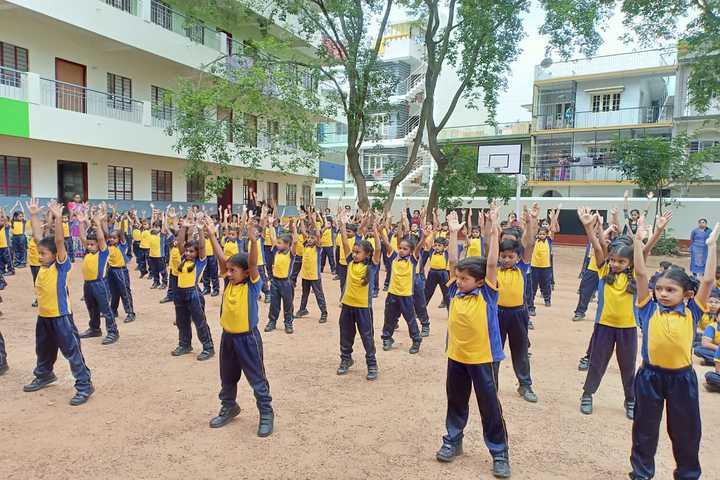Frank Public School-Physical Training Class