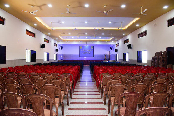 G M Vidyanikethan Public School-Auditorium