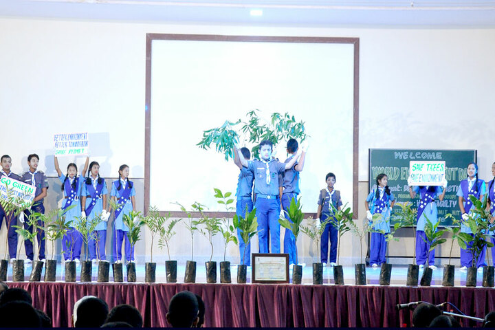 G M Vidyanikethan Public School-Environmental Day