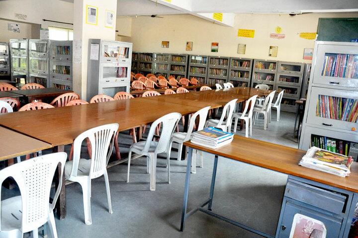 G M Vidyanikethan Public School-Library