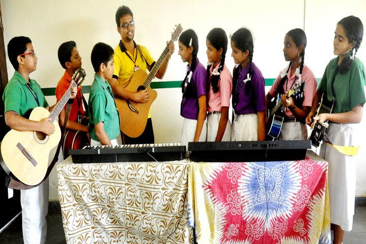 G M Vidyanikethan Public School-Music Room