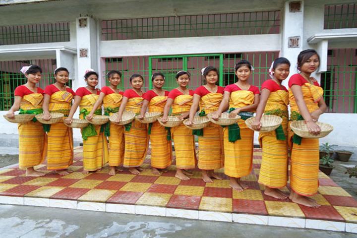 Centre For New Learning-Bodo Dance