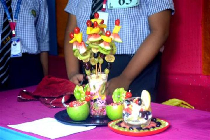 christ jyoti school - food festival