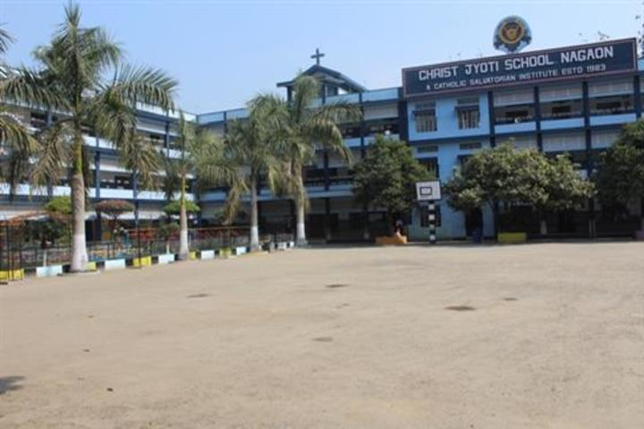 christ jyoti school - play ground