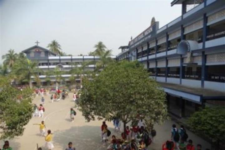 christ jyoti school - school building