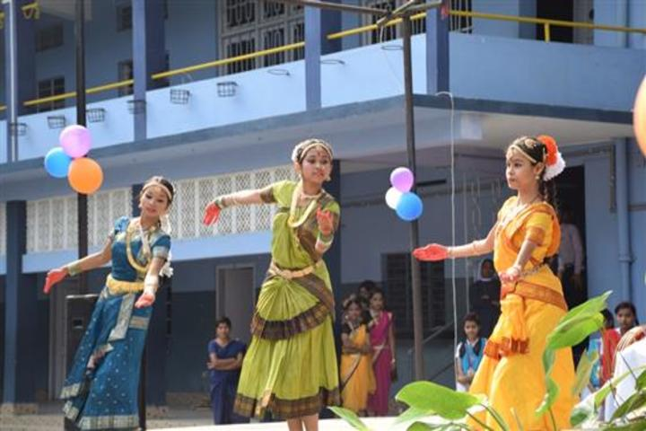christ jyoti school - traditional dance