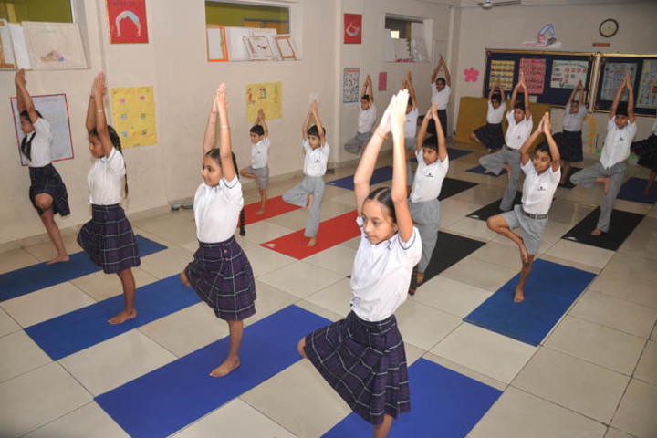 christ jyoti school - yoga