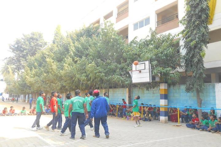 Green Valley English School-Basket Ball Court