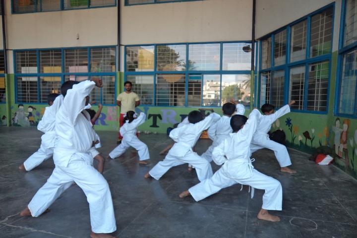 Green Valley English School-Karate