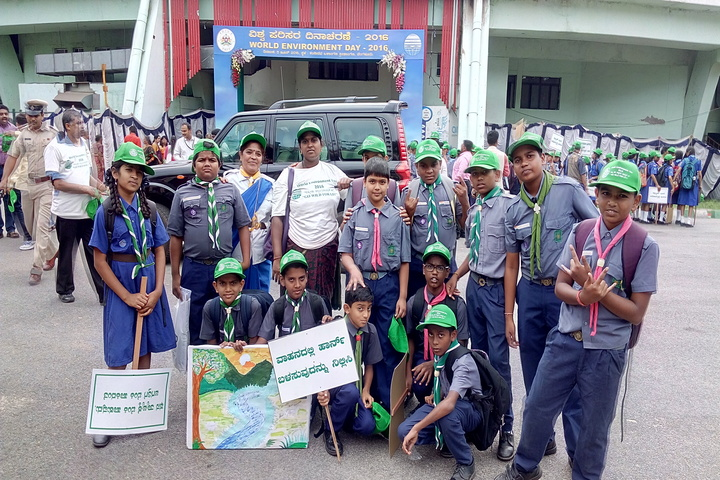 Green Valley English School-Scouts and Guide